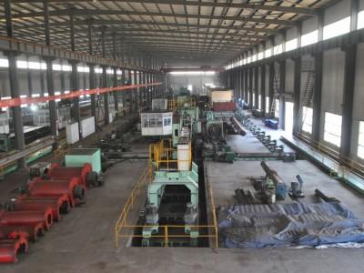 螺旋焊接钢管生产车间