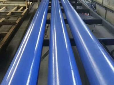 贵阳螺旋涂塑钢管价格多少钱一米?
