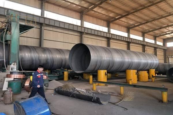 厂家是如何生产螺旋钢管的