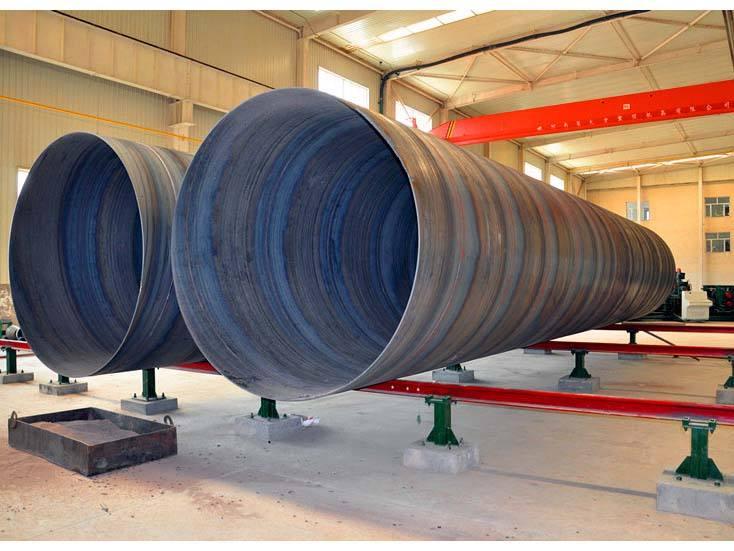 螺旋钢管在储运过程中如何避免出现磨损的情况