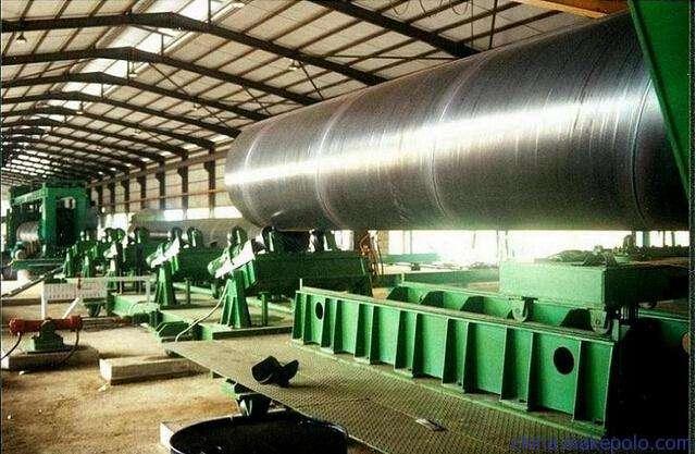 防腐螺旋钢管的不同的分类方式