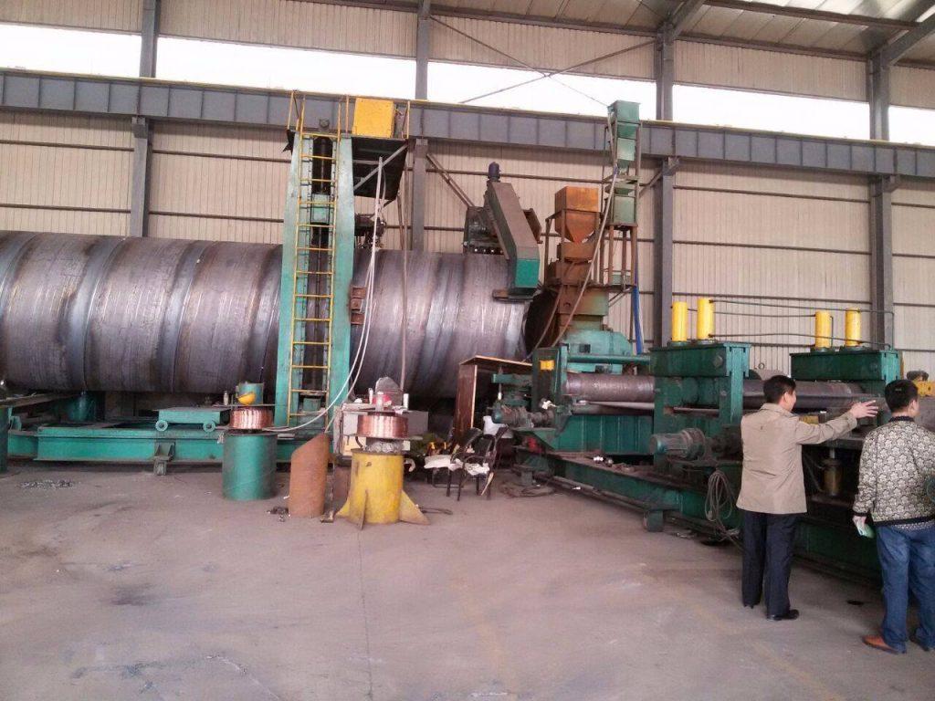 螺旋钢管防腐加工工艺标准