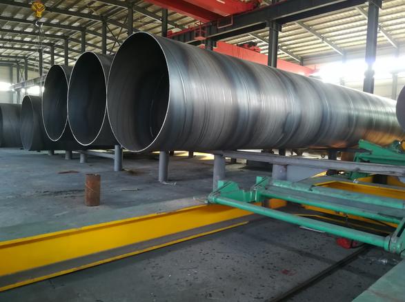 螺旋埋弧焊管的制造工艺