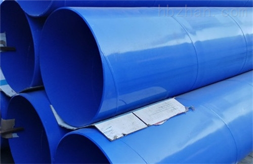 饮水用涂塑螺旋焊管的快速发展