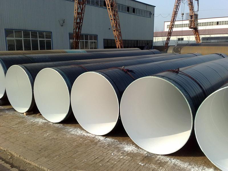 城市排污大口径螺旋涂塑钢管生产厂家
